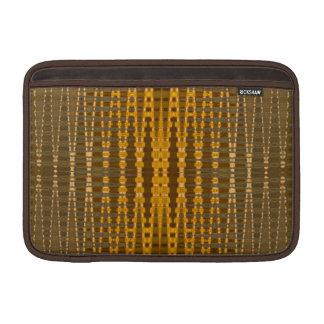 elegant gold beaded pattern sleeve for MacBook air