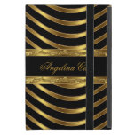 Elegant Gold black Stripe Fashionable Cover For iPad Mini