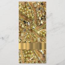 Elegant gold bling