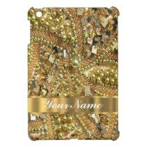 Elegant gold bling case for the iPad mini