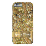 Elegant gold bling iPhone 6 case