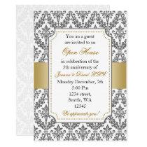 Elegant Gold Corporate party Invitation
