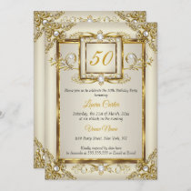 Personalised Birthday Party Photo Invitations N41 50th 60th 70th 80th Any Age