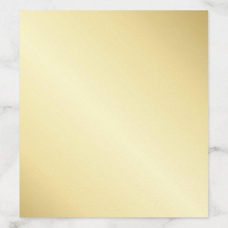 Elegant Gold Envelope Liner