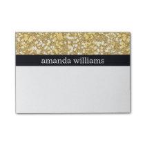 Elegant Gold Flakes Post-it Notes