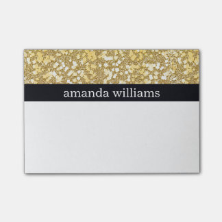 Elegant Gold Flakes Post-it Notes