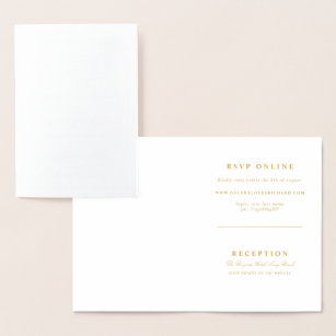 folded wedding invitations zazzle