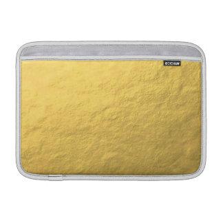 Elegant Gold Foil Printed MacBook Sleeve