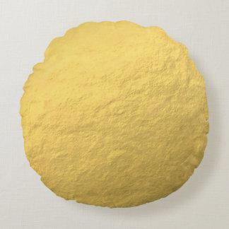 Gold Round Throw Pillow : Gold Sparkle Pillows - Decorative & Throw Pillows Zazzle
