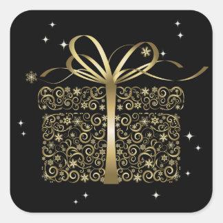Elegant Gold Gift Sticker - SRF