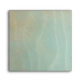 Elegant Gold Glitter Teal Blue Linen Envelopes