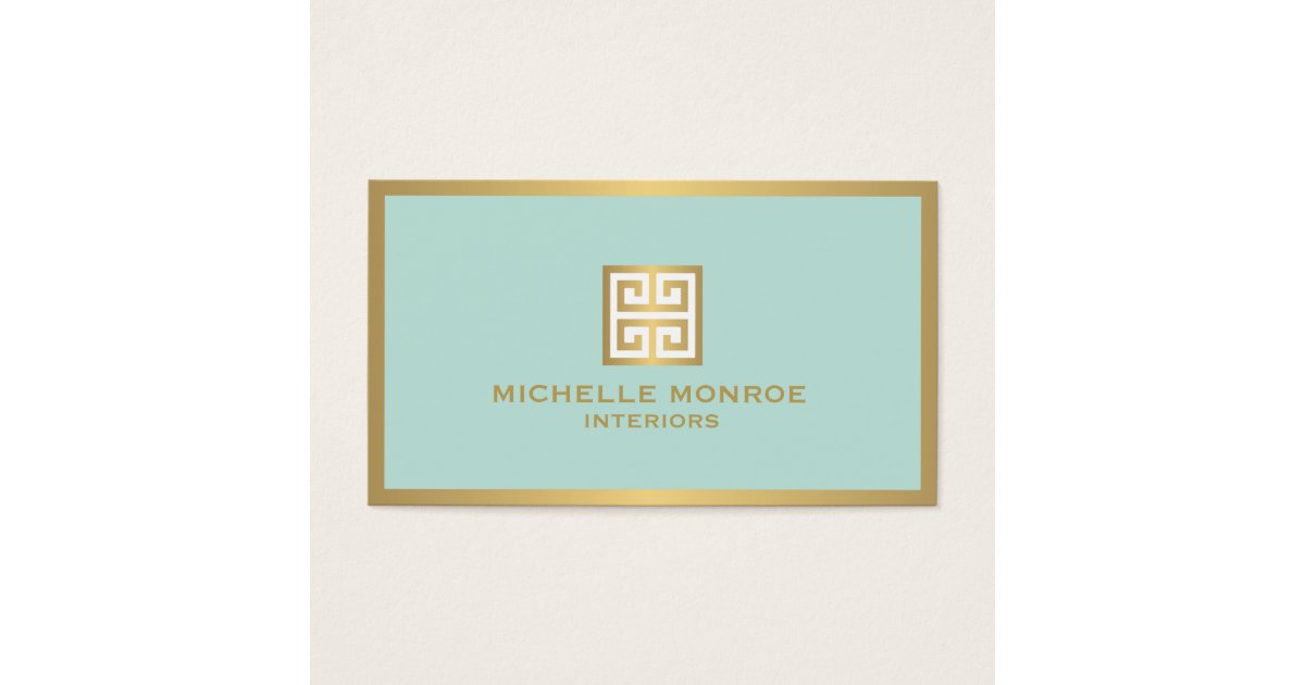 Elegant Gold Greek Key On Mint Interior Designer Business. Project First Page Sample Template. Whats In A Cover Letter Template. Job Resume Template Download. Free Affidavit Form Template. Free Resume Templates With Photo. Retirement Flyers Templates Free Template. Christian Powerpoint Templates Free. Template For Cover Letter Resume Template
