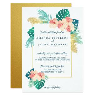 Hawaiian Wedding Invitations Zazzle