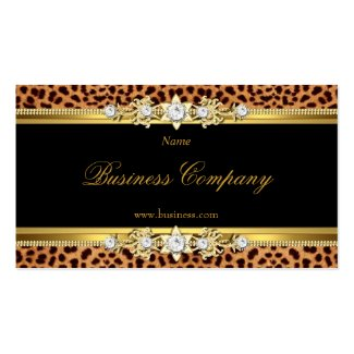 Elegant Gold Leopard Black The Original 2