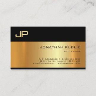 Elegant Gold Light Shadow Professional Artistic Business Card