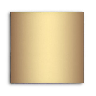 Elegant Gold Linen Leopard Envelopes