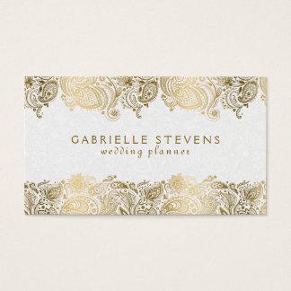 Business card template wedding