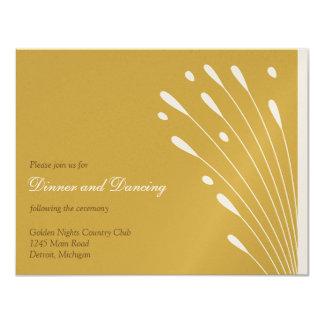 Elegant Gold_Reception Card