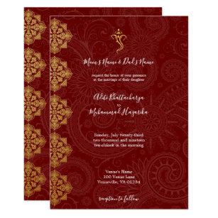 Ganesh Invitations Zazzle