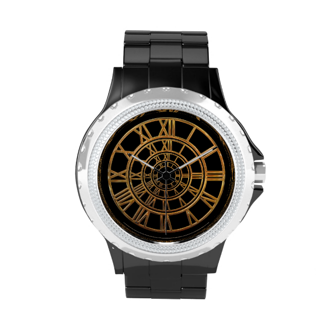 Elegant Gold Roman Numerals Watches