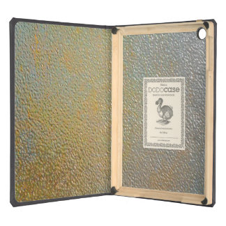 Elegant Gold Silver Pitted Metal Texture Look iPad Air Cases