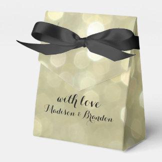 Elegant Gold Sparkle Gift Box