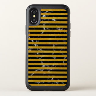 Elegant Gold Stripe -Custom Your Color- Speck iPhone X Case