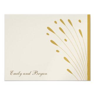 Elegant Gold - Thank You Card