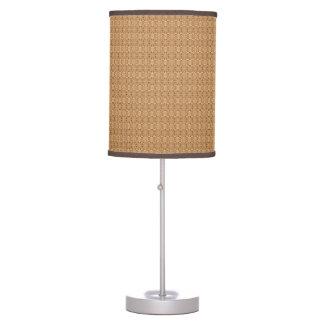 Elegant Gold Tone Effect Geometric Table Lamp
