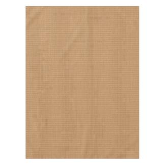 Elegant Gold Tone Effect Geometric Tablecloth