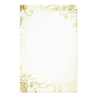 Elegant Gold Vintage Wedding Custom Stationery