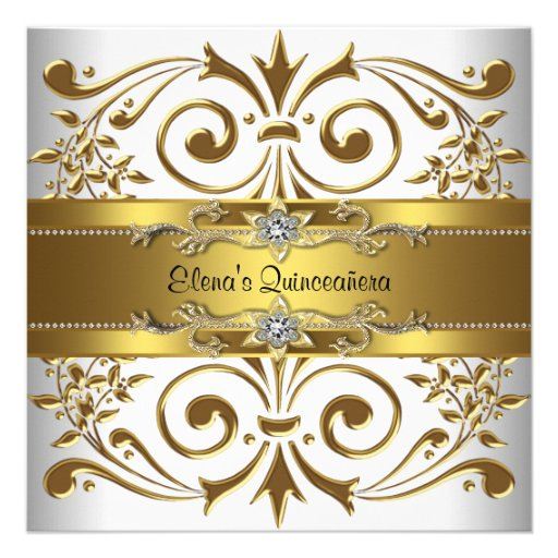 Elegant Quinceanera Invitations could be nice ideas for your invitation template