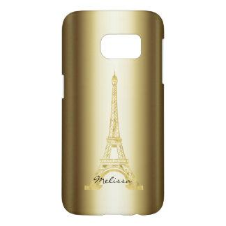 Elegant Golden Eiffel Tower | Best Gifts Samsung Galaxy S7 Case