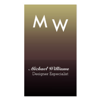 ELEGANT GOLDEN METAL SIMPLE LUXURY FRESH PERFUME Double-Sided STANDARD BUSINESS CARDS (Pack OF 100)