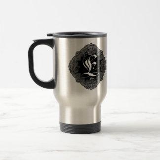 Elegant Goth Initial E Travel Mug
