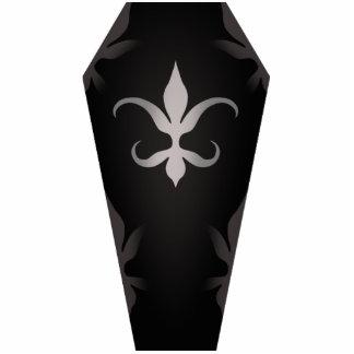 Elegant gothic coffin for Halloween Statuette