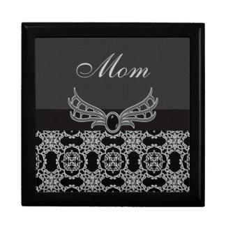 Elegant Gothic Jewel & Diamonds Mom Jewelry Box