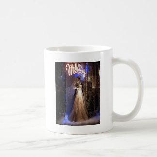 Elegant Gown NYC Holiday Window Display Coffee Mug