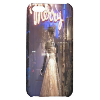 Elegant Gown NYC Holiday Window Display iPhone 5C Cases