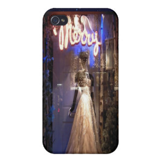 Elegant Gown NYC Holiday Window Display iPhone 4/4S Cases