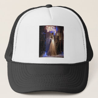 Elegant Gown NYC Holiday Window Display Trucker Hat