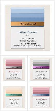 Elegant Gradient Business Cards