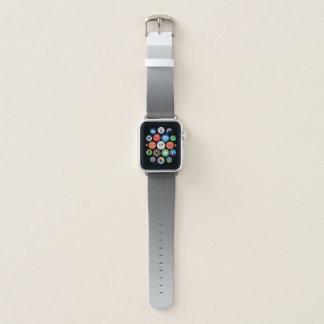 Elegant Gradient Silver Grey Apple Watch Band