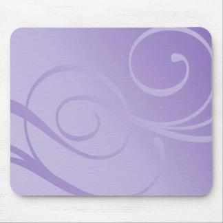 Elegant Gradient Swirls Mouse Pads