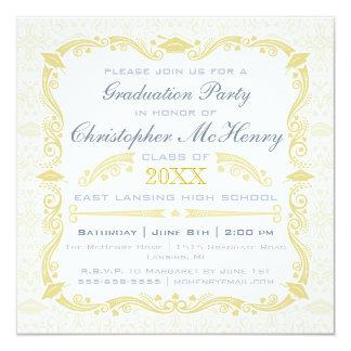 Elegant Graduation Invitation Announcement