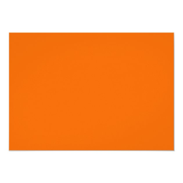 Elegant Graduation Monogram Ribbon Orange 5x7 Paper Invitation Card (back side)