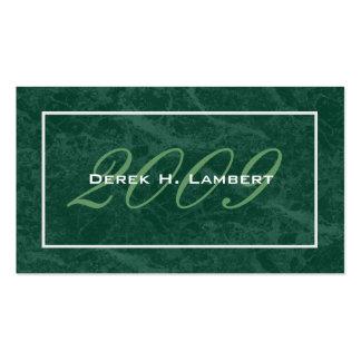 Elegant Graduation Name Cards - Class of 2009 Business Card