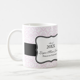 Elegant Graduation Photo Collage Mugs