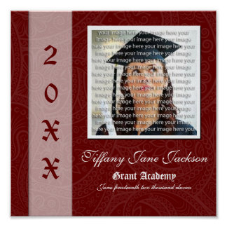 Elegant Graduation Photo Collage Wall Art