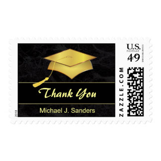 Elegant Graduation Thank You Postage